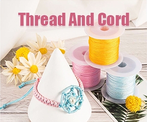 We have suede cord, waxed cord, leather cord, hemp cord and more, different colors and sizes are also available.