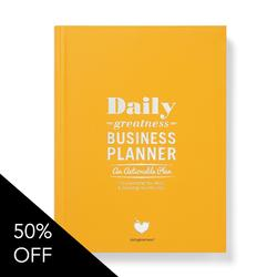 Dailygreatness Business Planner 17/18 Edition