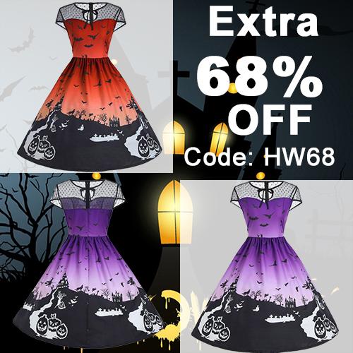 halloween dresses, vintage dresses,big discount