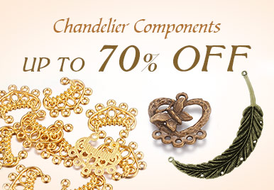 Up to 70% Off for Beads & Jewelry Findings