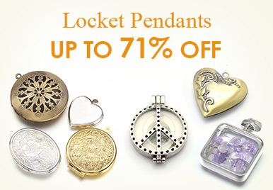 Up to 71% Off for Locket Pendants Wholesale