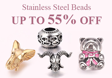 Up to 55% Off for Stainless Steel Beads