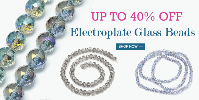 695 3 00 - Up to 45% OFF Electroplate Glass Beads
