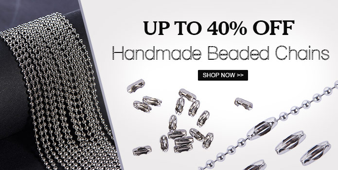 695 4 01 - Up to 40% OFF on Handmade Beaded Chains