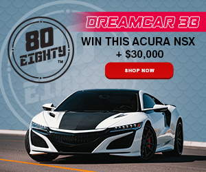 80Eighty Dreamcar Giveaway