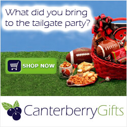 Football Gift Baskets at Canterberry Gifts