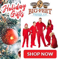 Shop BigFeet PJ's for the Holidays