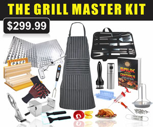 The Grill Master Kit from Sauk and Central