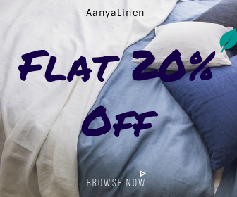 Flat 20% For Every New User At AanyaLienen