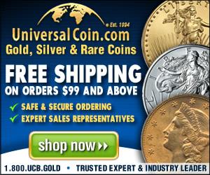 Universal Coin and Bullion - 300 x 250