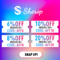 Sherop coupon collection for you to pick! Snap up!