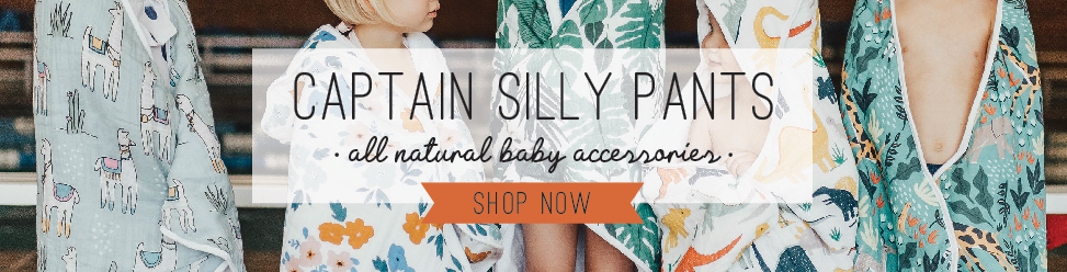 Captain Silly Pants - All Natural Baby Accessories