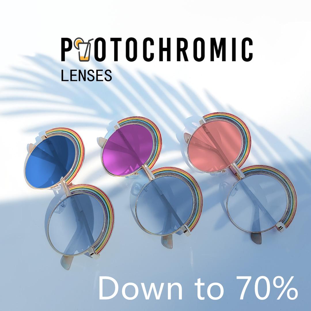 bannerImg - Photochromic Lenses, 70% off