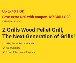 40% Off Wood Pellet Grill