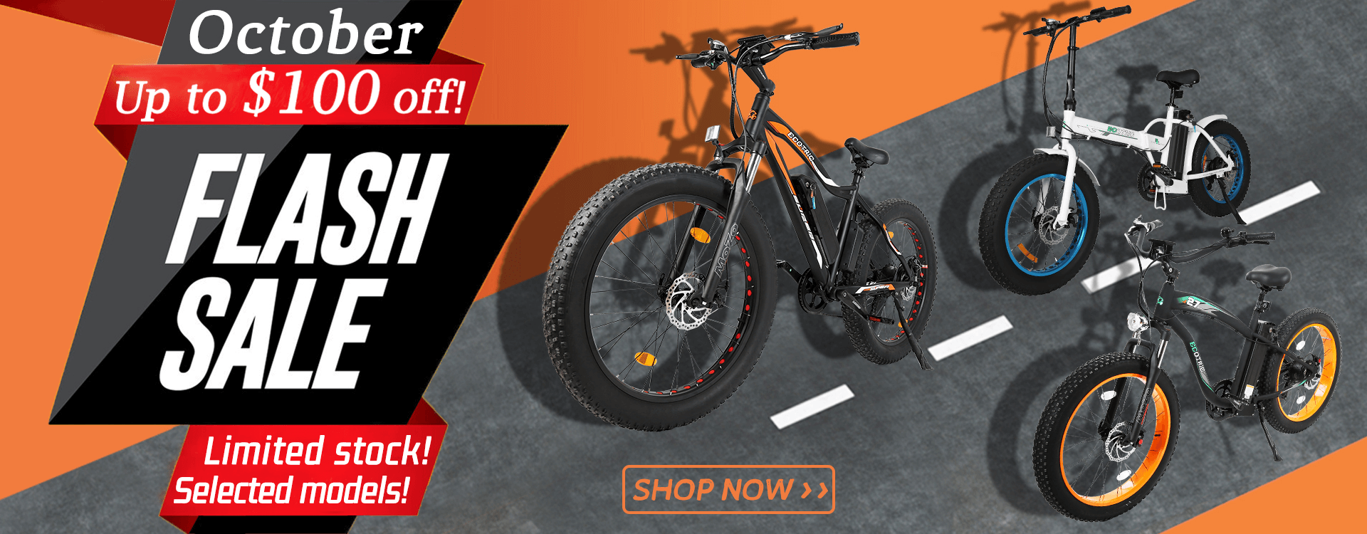 Buy Ecotric bikes, get free accessories!