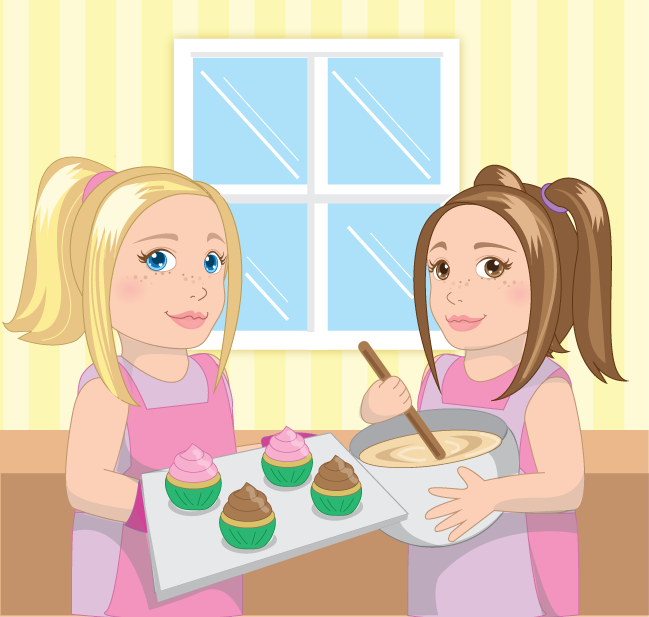 Eimmie and friend cooking
