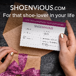 Give the gift of designer her own pair