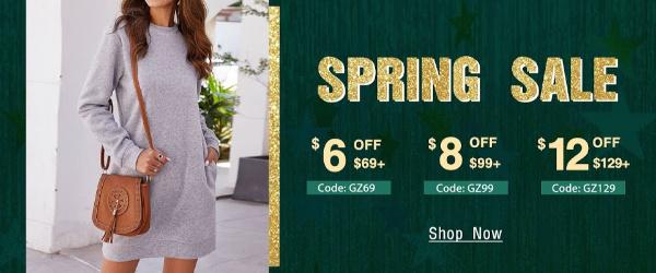 Galzee Spring Sale