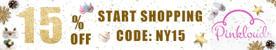 """Super Sale For New Year's Day, Use Code """"NY15"""" to Get 15% Off"""