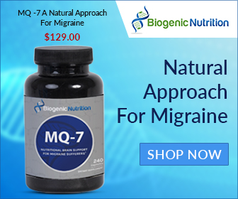 Natural approach for migraine