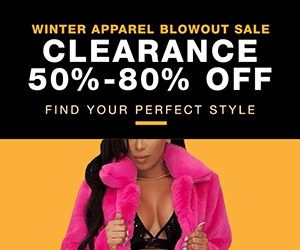 Winter Blowout at Couture Look! 50-80% off