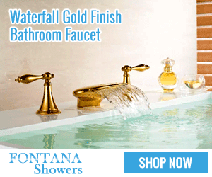 Gold Finish Bathroom Faucet