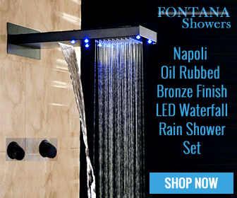 ED Waterfall Rain Shower Set