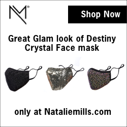 Crystal Face Mask