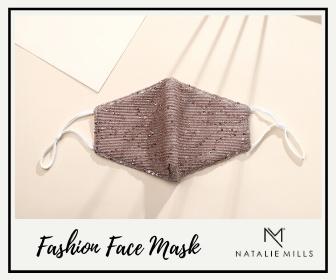 Natalie mills accessories, face masks