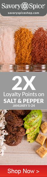 2x Loyalty Points on Salt & Pepper