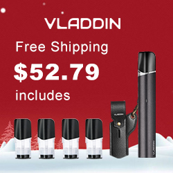 VLADDIN RE is a portable and easy to use refillable pod vaping system that achieves consistent and efficient delivery by its controlled power.
