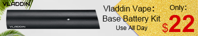 The VLADDIN base kit includes both a VLADDIN the device itself and a universal Micro-USB charger, pods are sold separately.