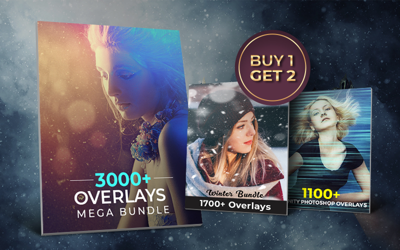 Buy 1 Get 2 Free Overlays Bundle