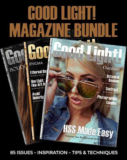 85 Boudoir & Portrait Magazine Issues Bundle