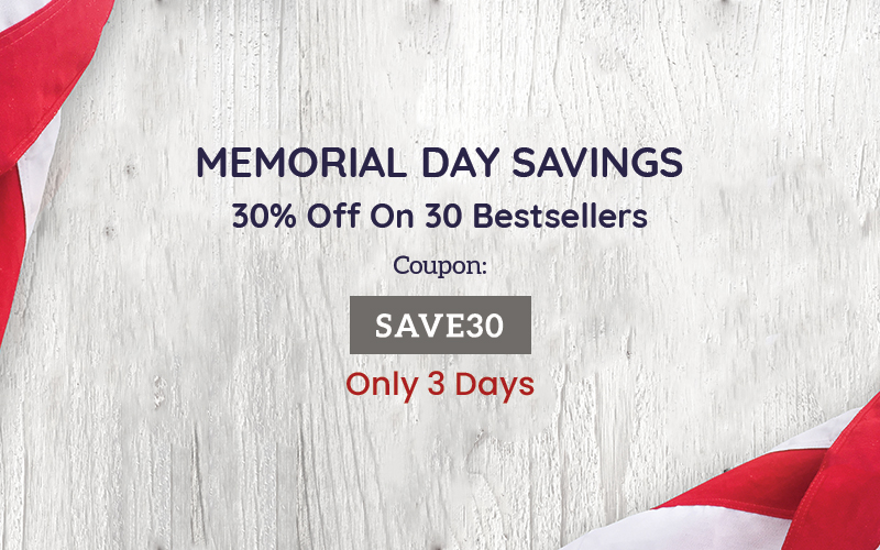 PhotoWhoa's Memorial Day Sale - 30% Off On 30 Deal