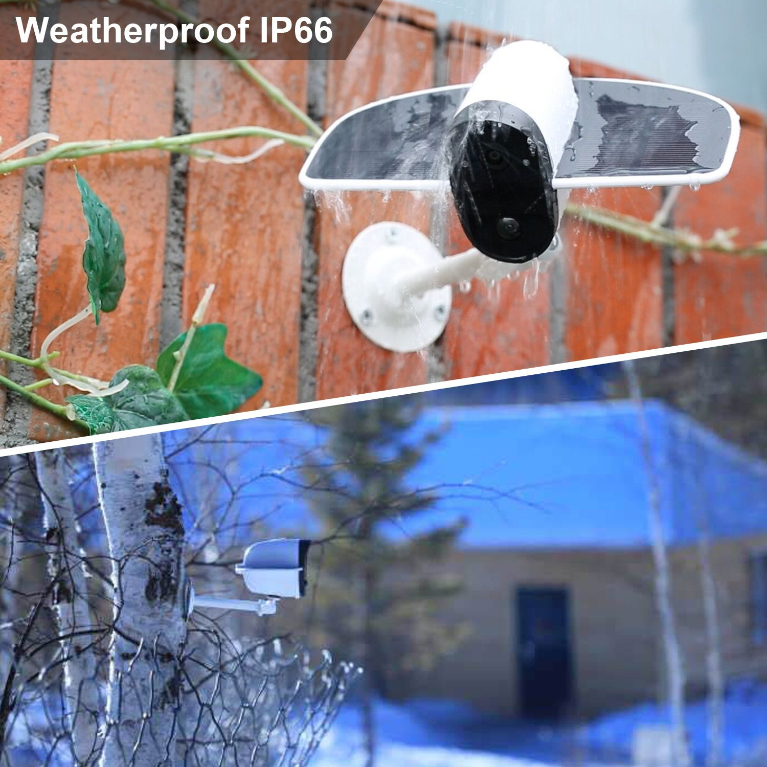 IP66 Weatherproof Security Camera