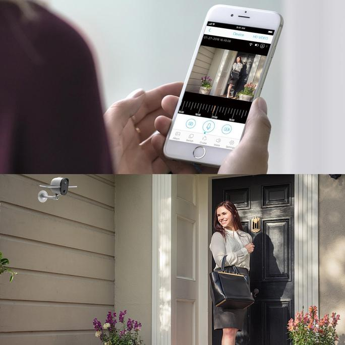 Catch every sight for your home safety. Solar wireless security cam, your family deserve it!