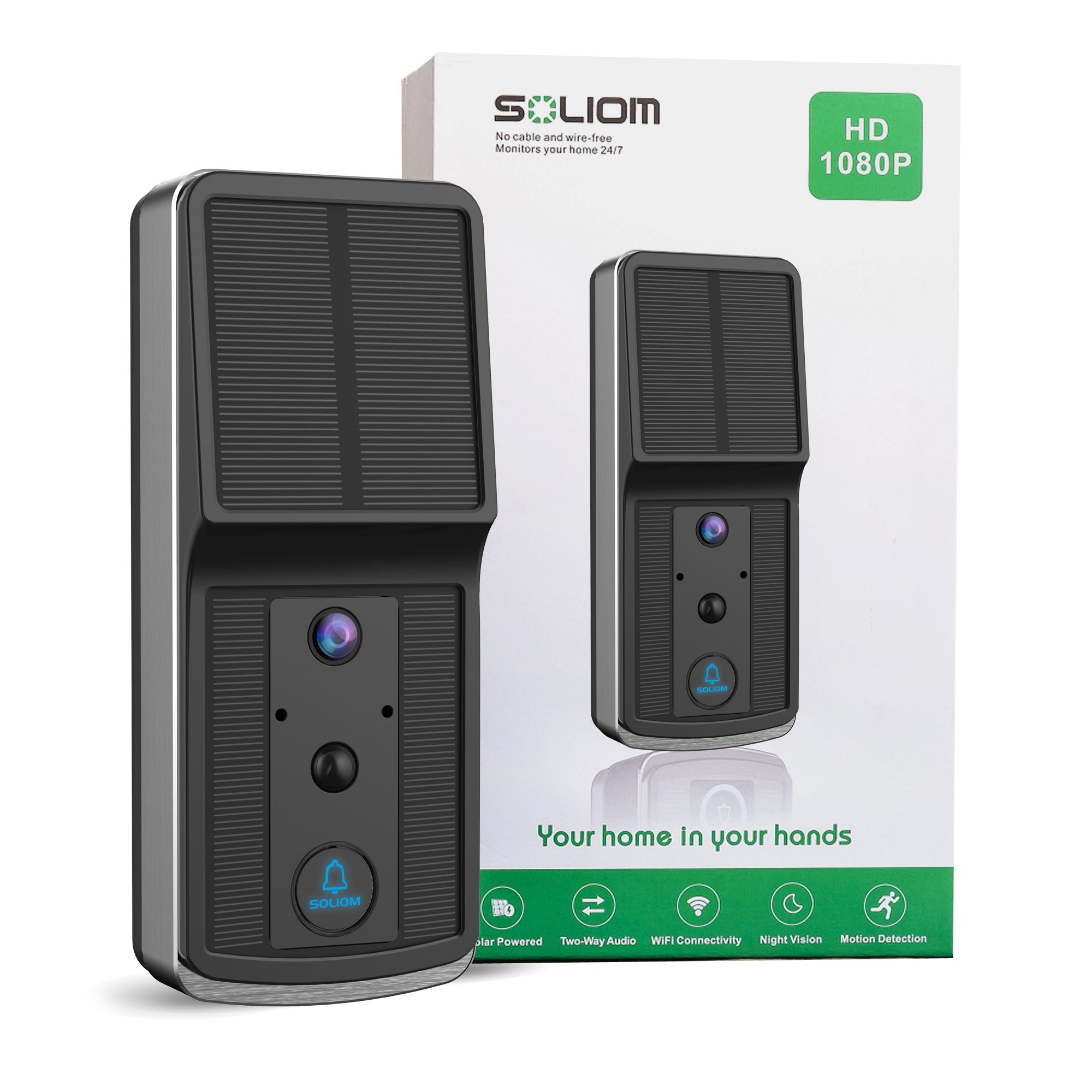 Soliom Solar video doorbell