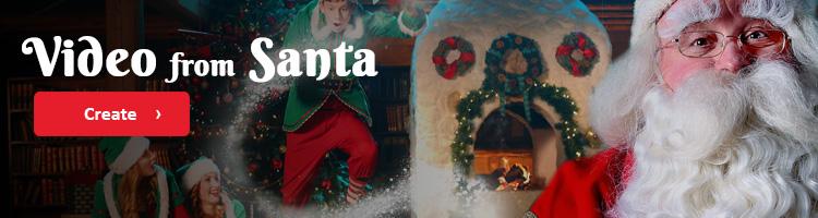 Video from Santa