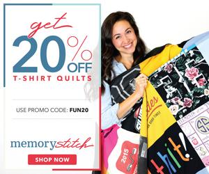 Memory Stitch 20% off