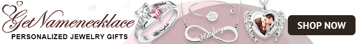 Shop GetNameNecklace.com for Beautiful Personalized Jewelry Gifts