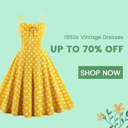1950s Swing Dresses