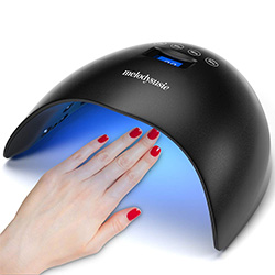 LED/UV Nail Lamp for Pedicures & Manicures
