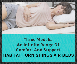 Three Amazing Air Beds from Habitat Furnishings