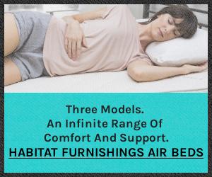 Three Amazing Air Beds from Habitat Furnishings