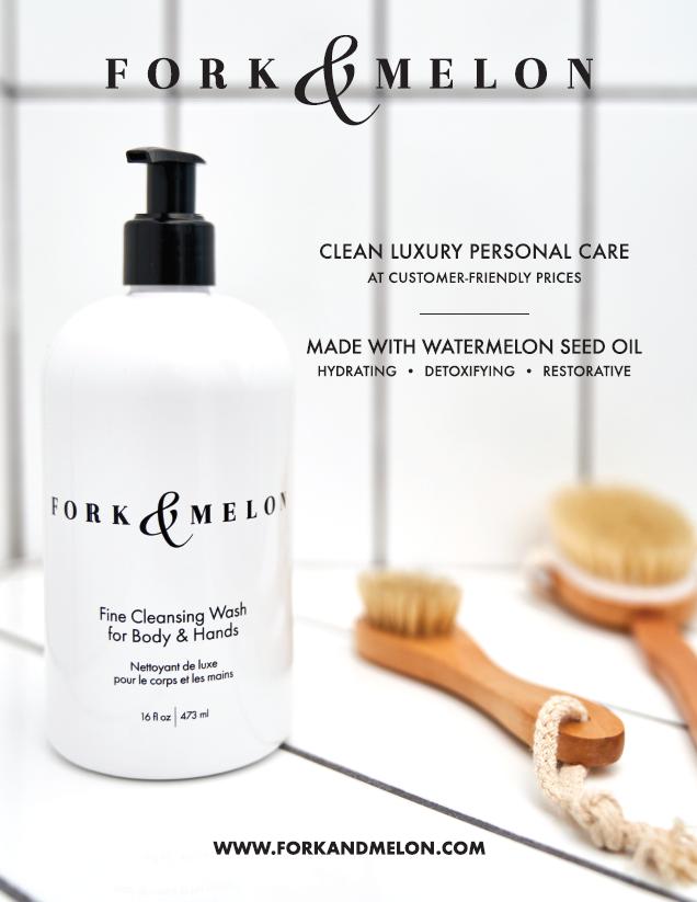 FORK & MELON fine cleansing wash