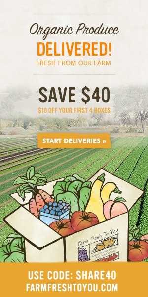 $10 Off Your First 4 Boxes - Use Code SHARE40