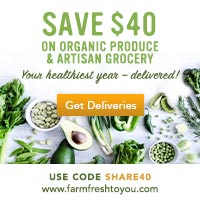 $10 Off Your First 4 Boxes - SHARE40 - ORGANIC PRODUCE DELIVERED