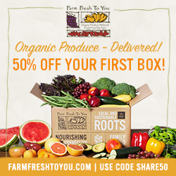 50% Off First Box of Organic Produce and Artisan Groceries