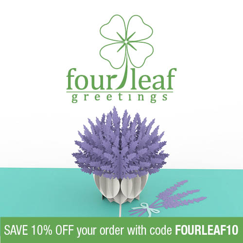 Save10% off your Four Leaf Greetings order